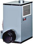 Теплогенератор Kroll на дизельном топливе, газе (серия H)