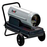 Дизельные тепловые пушки KROLL прямого нагрева без дымохода