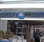 Пример использования завес FRICO серий AC и AD 300-400